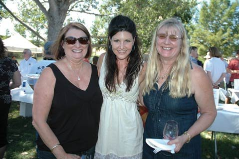 J. Redmon, Michelle Hottinger, and Teresa Jensen