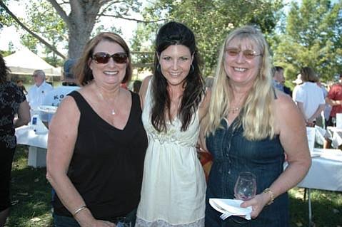 J. Redmon, Michelle Hottinger, and Teresa Jensen