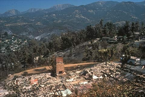 """Prologue to the future: """"We will have another Paint Fire or Sycamore Canyon Fire,"""" said S.B. Fire Department Captain Eli Iskow. """"We just don't know where or when."""""""