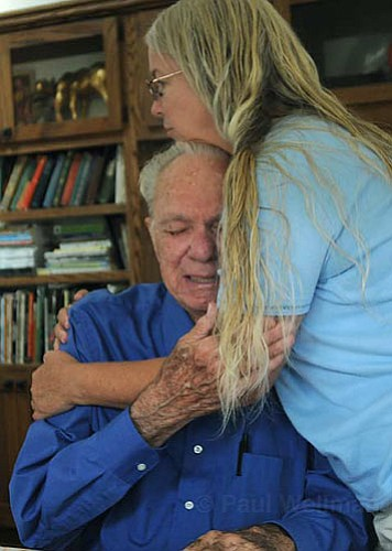 Wheeler is struggling with the loss of his wife first to Alzheimer's and then to a nursing home.