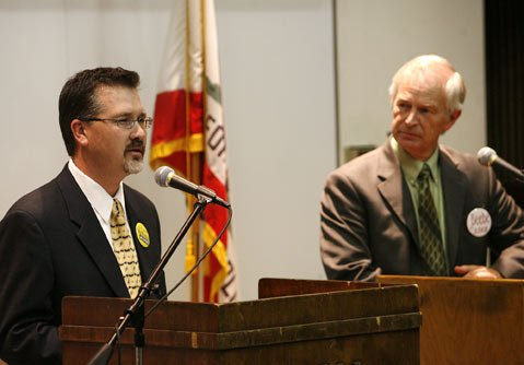 John MacKinnon (left) and Jed Beebe.