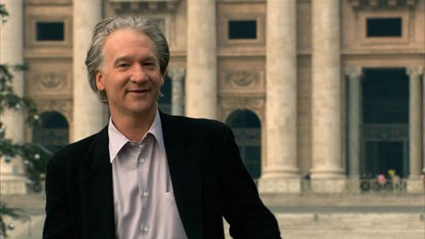 Bill Maher in <em>Religulous</em>.