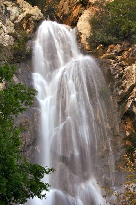 When Tangerine is flowing it is the most impressive waterfall in Santa Barbara County.