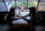 Love certainly is in the air at our readers' pick for most romantic restaurant, Cold Spring Tavern.