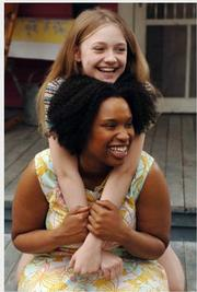 Dakota Fanning and Jennifer Hudson
