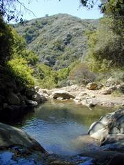 Pools along the middle of the hike make a great place to spot in either direction.