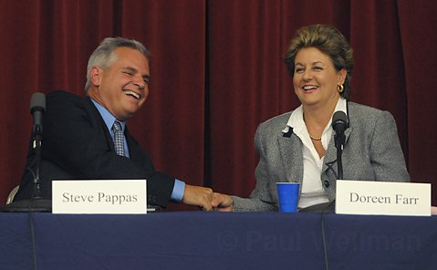 A Civil Competition: The tone of the 3rd District race has been a cordial one, and Pappas and Farr have managed to stay on point talking about the issues, rather than each other.