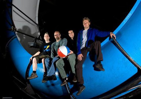 "The Discovery Channel's ""Prototype This"" team."