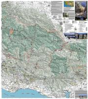 A close look at a section of the new Dick Smith/Matilija Wilderness Map.