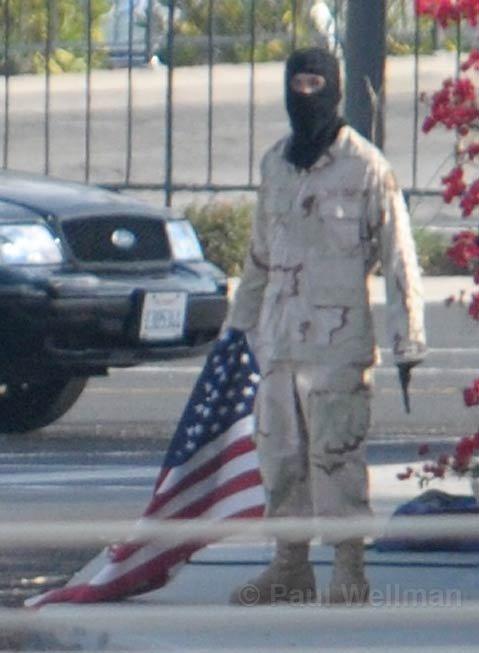 The gunman, Santa Barbara resident Eddie Van Tassel.