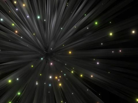 "George Legrady's ""Stardust II."""