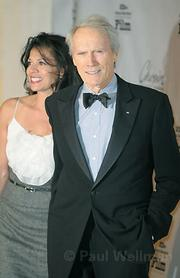 Clint Eastwood and wife Dina Ruiz on the red carpet during the 2008 Santa Barbara Film Festival