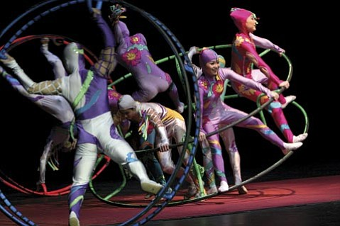 Santa Barbarans won't believe their eyes when the Chinese Golden Dragon Acrobats arrive at the Marjorie Luke Theatre (721 E. Cota St.) on Friday night.