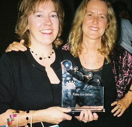 Colleen McCarthy-Evans and Joyce Johnson