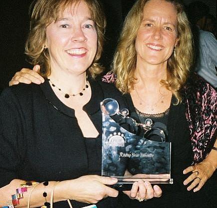Colleen McCarthy-Evans and Joyce Johnson