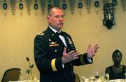 Brigadier General William Beard - commander of the 351st Civil Affairs Command.
