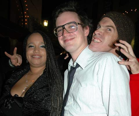 Tanya Spears Guiliacci, Chris Meagher, and Ethan Stewart