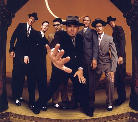 The boys of Big Bad Voodoo Daddy head to the Arlington this Tuesday to spread some holiday cheer with a hometown Christmas show.