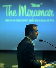 Mister Miramar:  Developer Rick Caruso got what he wanted from the Board of Supervisors on Tuesday, a 4-1 vote denying an appeal that would've halted his plans for a five-star Miramar Hotel.