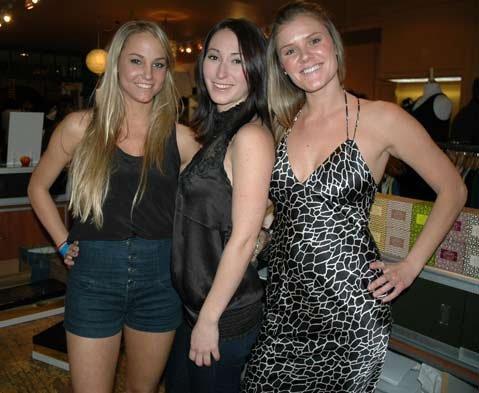 Mekayla Alter, Sarah Poyourow, and Emily Zienkiewicz