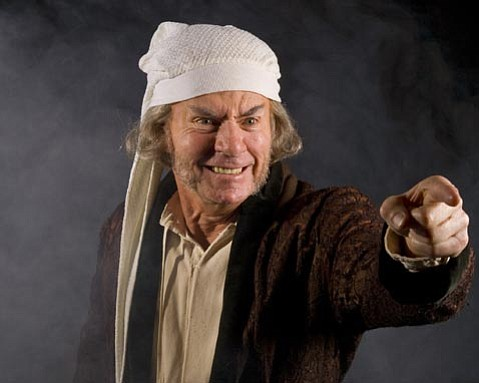 Veteran theater actor James Sutorius will play Scrooge at the Granada in <em>A Christmas Carol: Scrooge and Marley.</em>