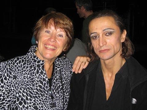 Alice Condodina and Farukh Ruzimatov.