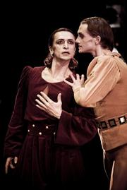 The Mikhailovsky Ballet Company performs <em>The Moor's Pavane</em>.