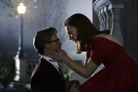 Brad Pitt (left) and Cate Blanchett (right) star in The Curious Case of Benjamin Button.