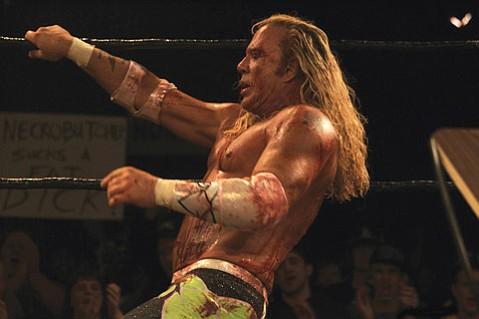 "Randy ""The Ram"" Robinson (Mickey Rourke) is <em>The Wrestler</em>."