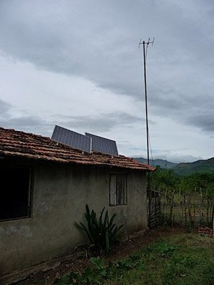 A solar powered school in Cuba.