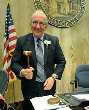 Santa Barbara 5th District Supervisor Joe Centeno is voted to be the new Chairmain of Board of Supervisors