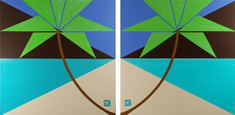 """""""Tropical Abstract Design #4-BA"""""""