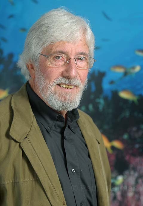 Jean-Michel Cousteau at the Ocean Futures offices in Santa Barbara 