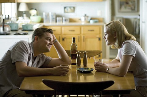 Leonardo DiCaprio and Kate Winslet as Frank and April Wheeler, together again in <em>Revolutionary Road</em>.