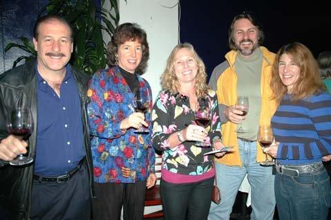 Richard Salzberg, Leslie Thomas, Heather Heilman, Jean Francois Chaub, and Catherine Almo