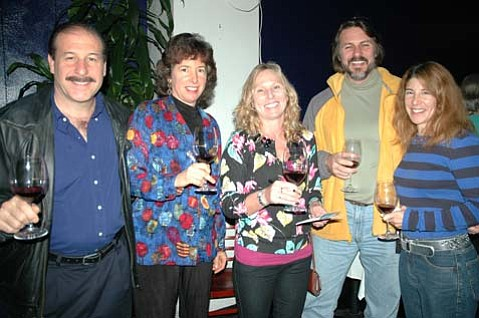 Richard Salzberg, Leslie Thomas, Heather Heilman, Jean Francois Chaub, and Catherine Almo