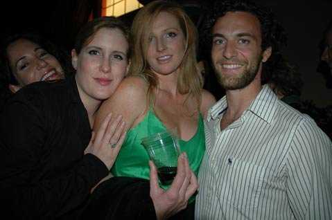 Holly Bradbury, Melissa Davis, and Ben Preston