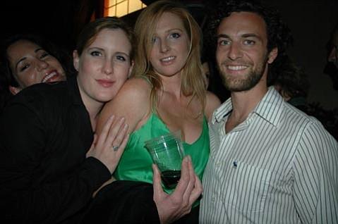 Holly Bradbury, Melissa Davis, and Ben Preston