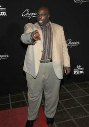 """Actor and SBIFF 2009 film juror Gary Anthony Williams makes it clear that """"Oh, you're going to want a photo of me."""""""