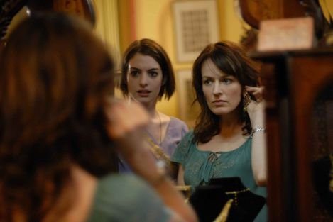 Anne Hathaway (left) and Rosemarie DeWitt (right) in &lt;em&gt;Rachel Getting Married&lt;/em&gt;.