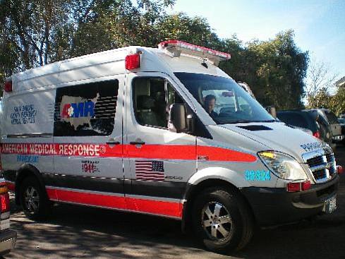 The new Sprinter ambulance.