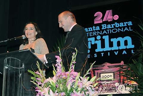 Kristen Scott Thomas and Ralph Fiennes