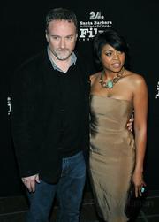 David Fincher and Taraji P. Henson