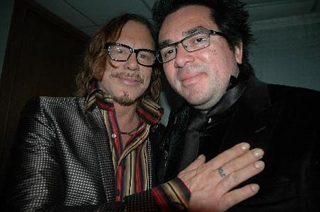 Mickey Rourke and Roger Durling