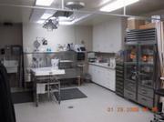 Coroner's workroom.