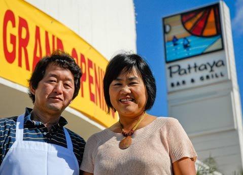 Owner and chef Sonny Sriprajittichai and his wife Judy Siribandan.