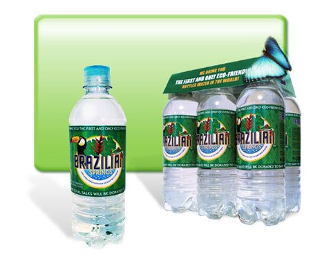 Eco-Conscious Brazilian Springs Water
