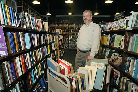 Eric Kelley, owner of the Book Den, says times are tough for independent bookstores, but that they're worth saving.