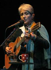 Joan Baez at the Lobero Theatre