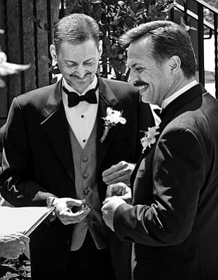 Marc Huefner and Gary Kinser